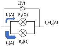 電流と電圧と抵抗_並列の合成抵抗