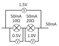 電流と電圧と抵抗_直列で使い切る